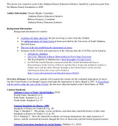Social Studies Standards Grade 5 Alabama [ 2200 x 1700 Pixel ]