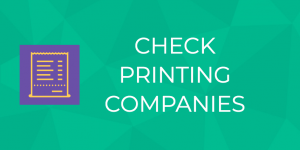 Check Printing Companies