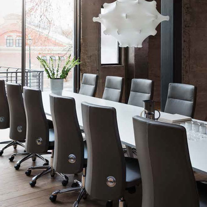 chair design bangkok swivel office without arms hag flokk meeting conference chairs