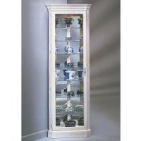 The Northern Hardwood Jefferson Corner Curio Cabinet ...