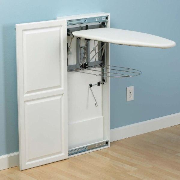 Folding Ironing Board Cabinet