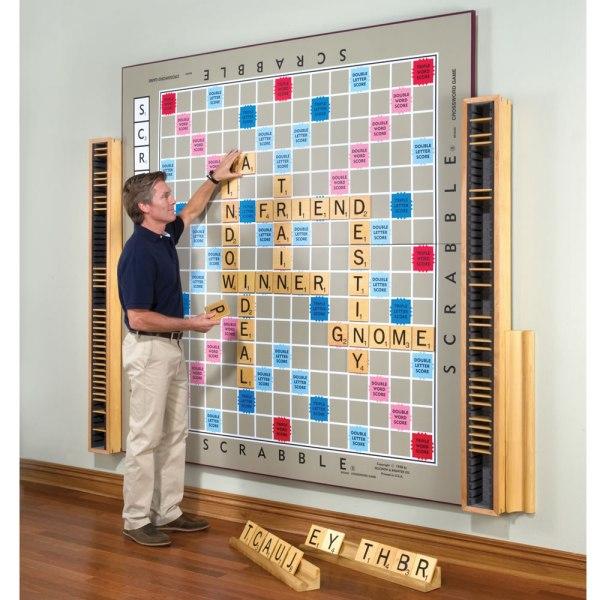 Giant Scrabble Board Game
