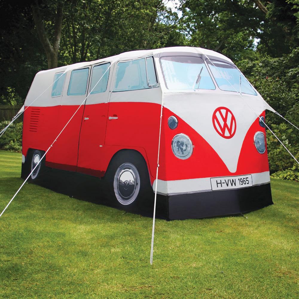 The VW Bus Tent  Hammacher Schlemmer