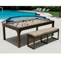 Billiards Dining Table Gallery - Round Dining Room Tables
