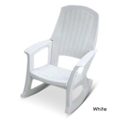 Rocking Chair White Outdoor Cloth Covers For Weddings The Strongest Hammacher Schlemmer Rocker