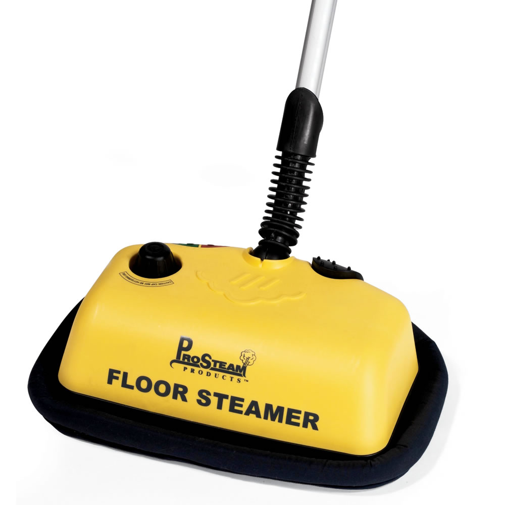 The Hard Surface Floor Steam Cleaner  Hammacher Schlemmer