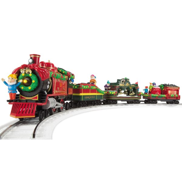 Classic Lionel Holiday Train Set - Hammacher Schlemmer