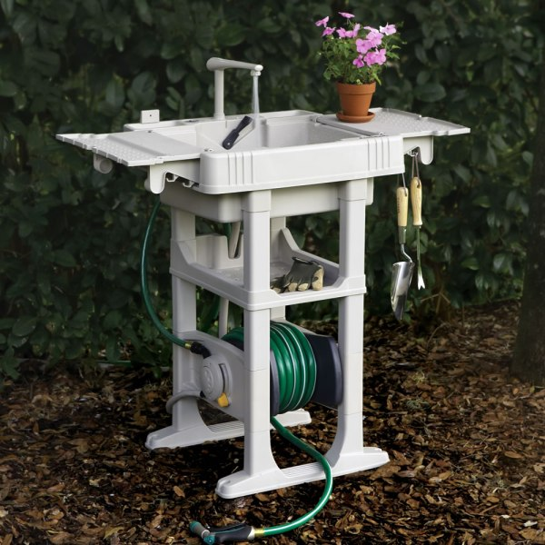 Outdoor Portable Garden Sink Station