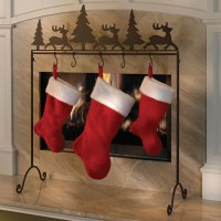 The Portable Stocking Holder - Hammacher Schlemmer