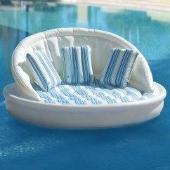Sofa Lounger Sleeper Soho Leather Sofas The Floating - Hammacher Schlemmer