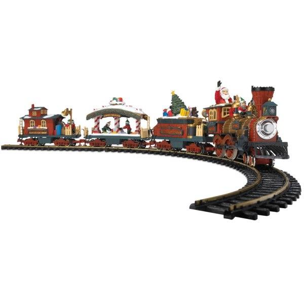 Animated Christmas Train Set - Hammacher Schlemmer
