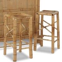 Additional Bamboo Bar Stools - Hammacher Schlemmer