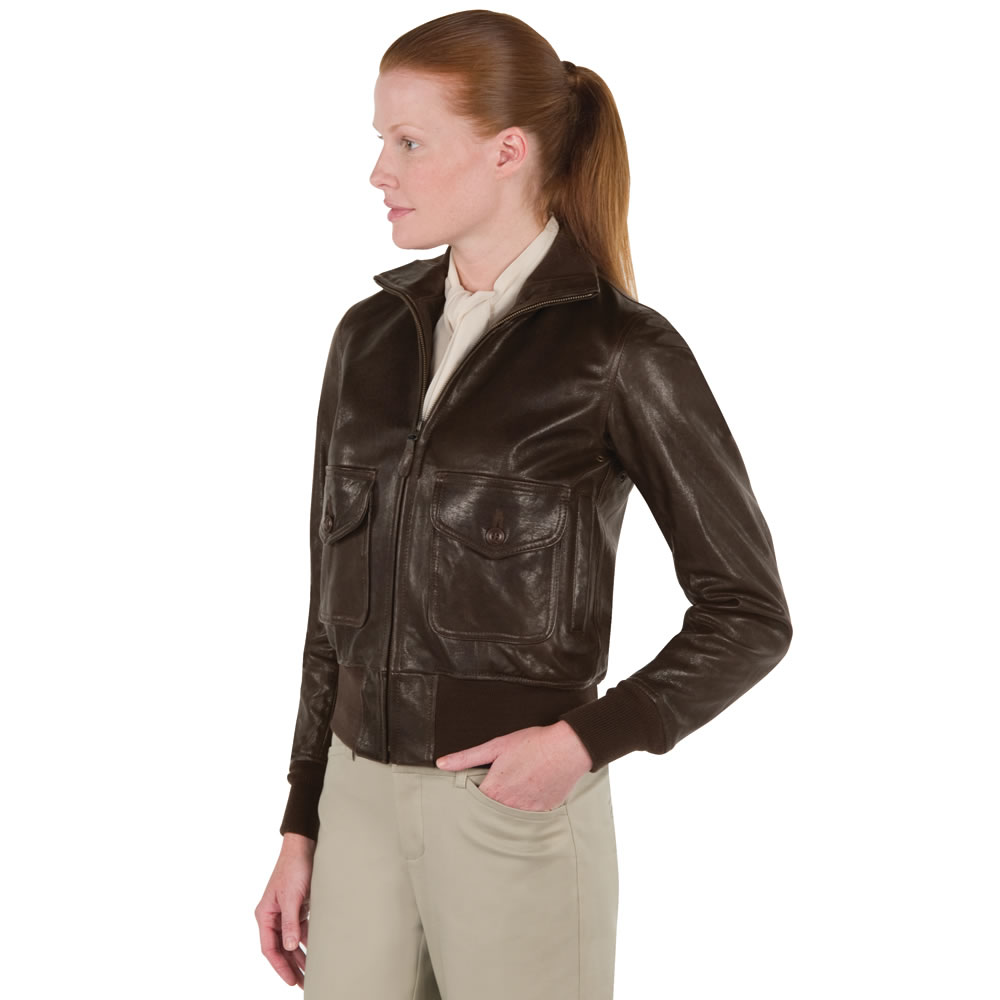 The Amelia Earhart Flight Jacket  Hammacher Schlemmer