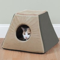 The Best Heated Cat Bed - Hammacher Schlemmer