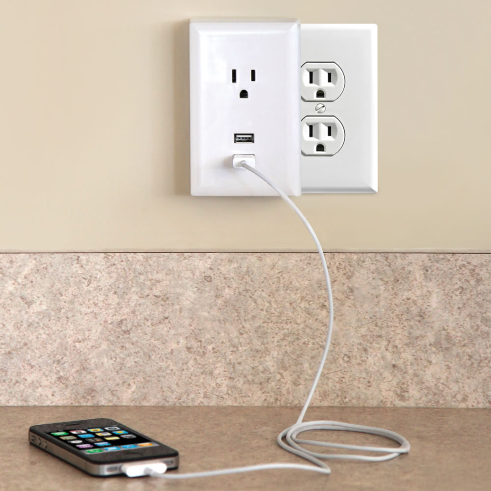 medium resolution of the plug in usb wall outlets