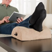 The Coffee Table Footrest - Hammacher Schlemmer