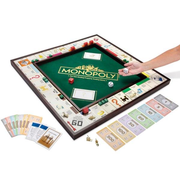 Giant Monopoly Game - Hammacher Schlemmer
