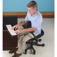 Best Posture Desk Chair Toddler Rocking Chairs The Optimal Office - Hammacher Schlemmer