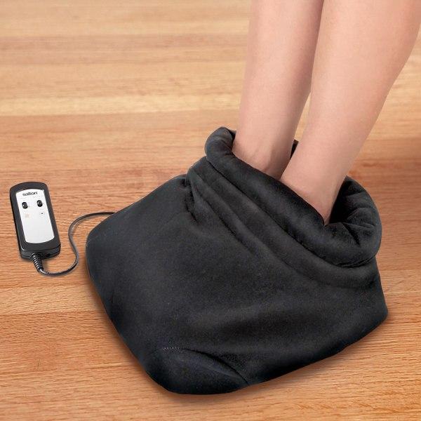 Shiatsu Heated Foot Massager - Hammacher Schlemmer
