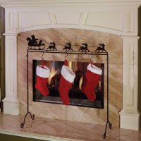 The Place Anywhere Stocking Holder - Hammacher Schlemmer