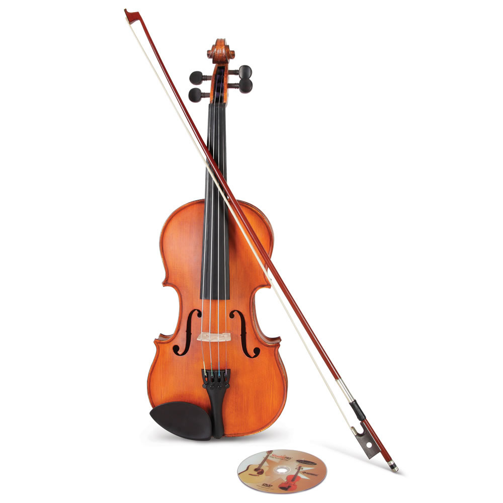 The Learn To Play Violin - Hammacher Schlemmer