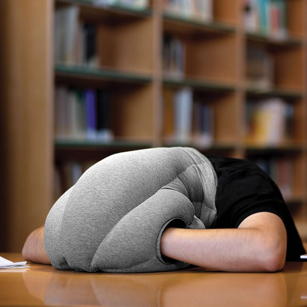 power nap head pillow hammacher schlemmer