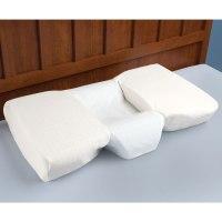 The Neck Pain Relieving Pillow - Hammacher Schlemmer