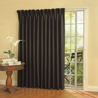 The Noise Reducing Patio Door Drapes - Hammacher Schlemmer