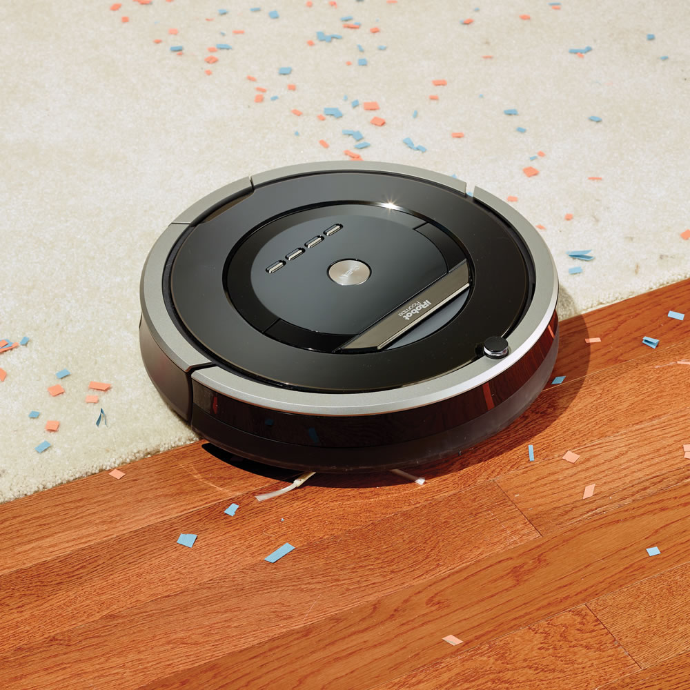 The Superior Suction Room To Room Roomba 880 - Hammacher Schlemmer