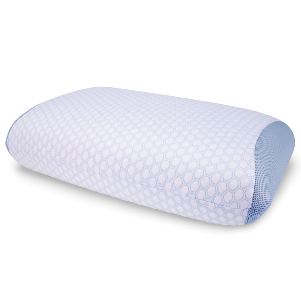 The Best Gel Infused Cooling Pillow  Hammacher Schlemmer