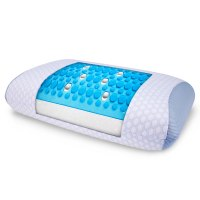 The Best Gel Infused Cooling Pillow - Hammacher Schlemmer