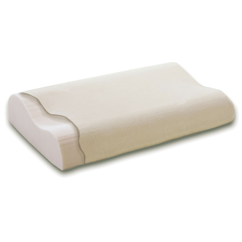 The Neck Pain Relieving Memory Foam Pillow
