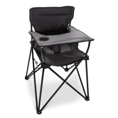 Portable Folding High Chair What Is The Best Office Packable Hammacher Schlemmer