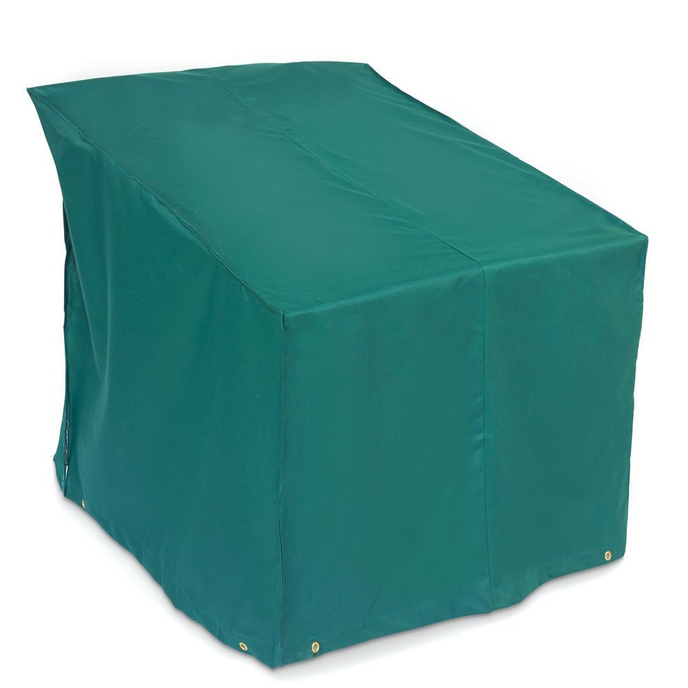 teal chair covers cheap spandex the better outdoor furniture lounge cover hammacher schlemmer