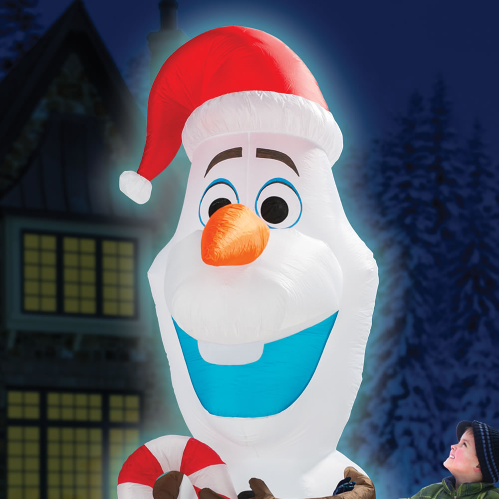 The 8 Inflatable Olaf Hammacher Schlemmer