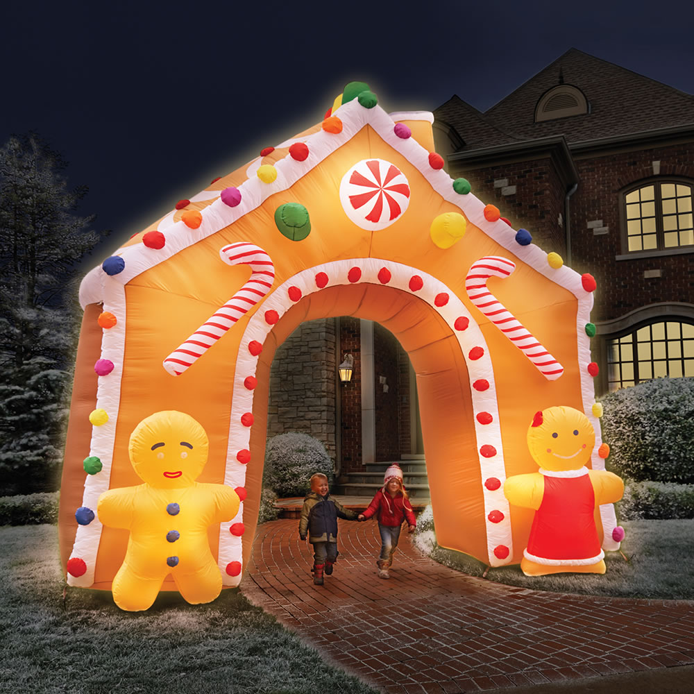 Decoration House Gingerbread Yard