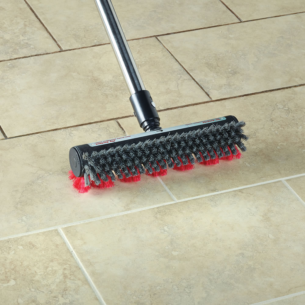 Tile Floor Scrubber