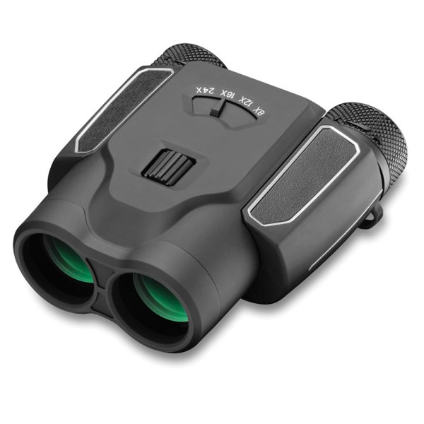 Compact Zoom Binoculars - Hammacher Schlemmer