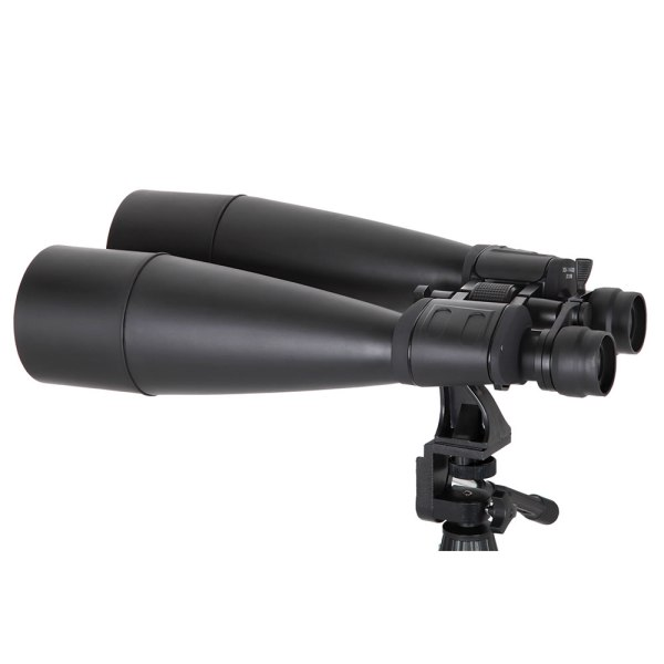 144x Powerful Zoom Binoculars - Hammacher Schlemmer
