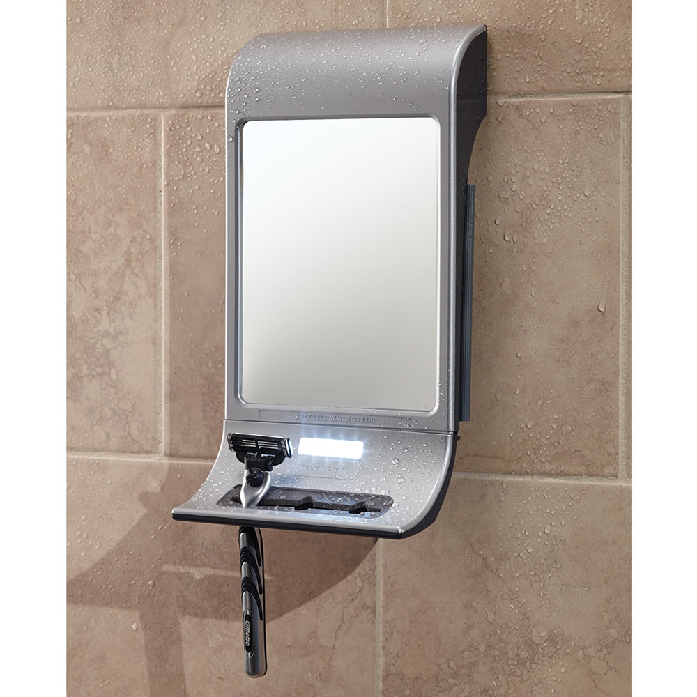 Fog Free Bathroom Mirror
