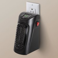 The Wall Outlet Personal Space Heater - Hammacher Schlemmer