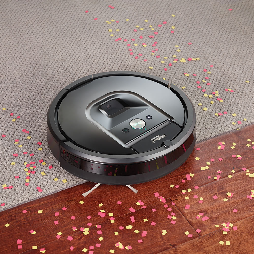 The App Controlled Roomba 980  Hammacher Schlemmer