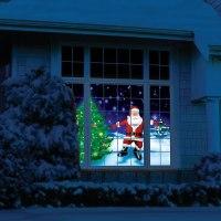 The Holiday Window Scene Animator - Hammacher Schlemmer
