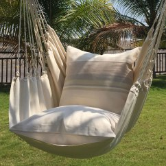 Hanging Hammock Chair Tall Patio Table And Chairs The Authentic Hammacher Schlemmer