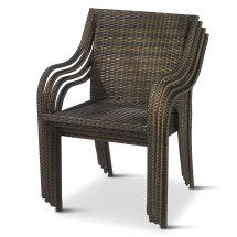 Stackable Outdoor Wicker Chair