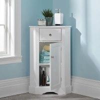 The Bathroom Corner Cabinet - Hammacher Schlemmer