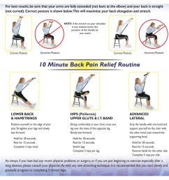 the physical therapist s seated back stretcher 10 minute relief routine diagram [ 1000 x 1000 Pixel ]