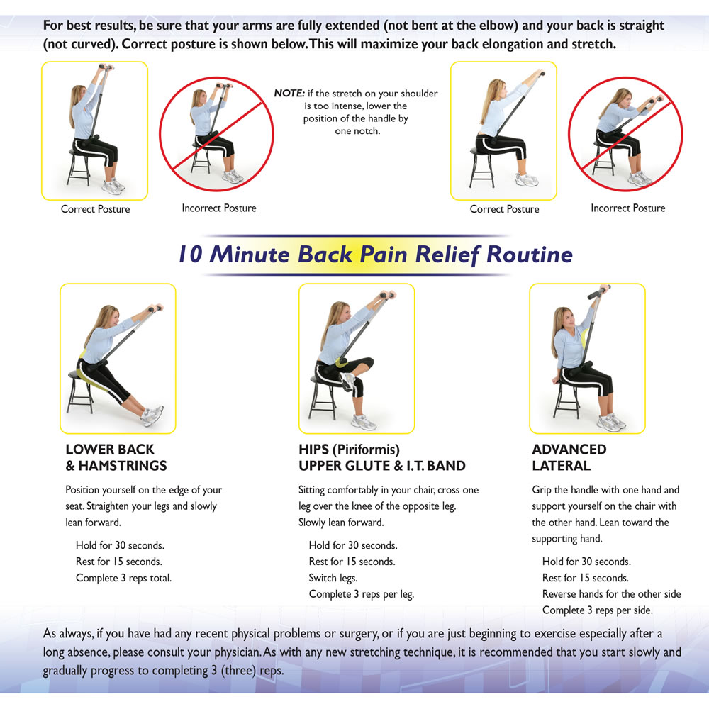 medium resolution of the physical therapist s seated back stretcher 10 minute relief routine diagram