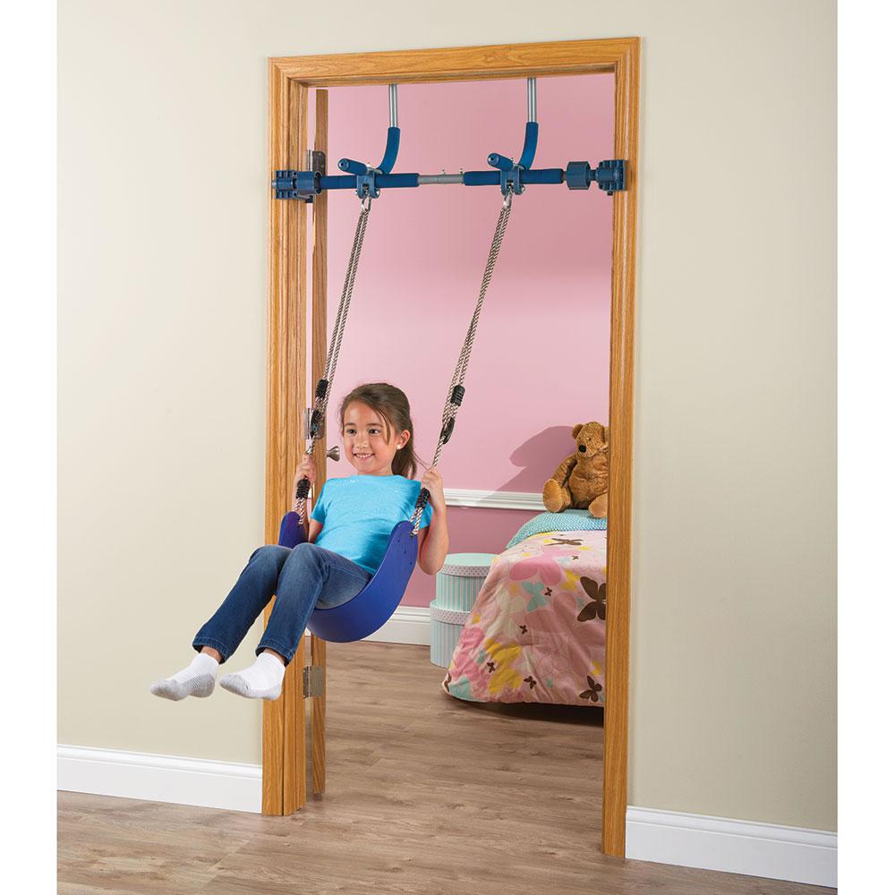 Monkey Gym Door & Surprising Doorway Swing NEW Evenflo