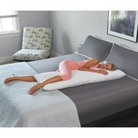 Temperature Regulating Body Pillow - Hammacher Schlemmer